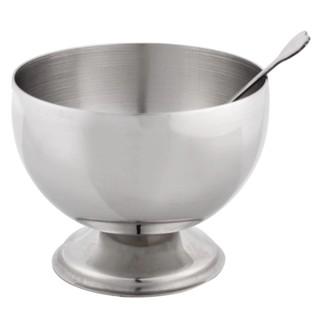 1 Piece Stainless Steel Dessert Cup Metal Salad Bowl
