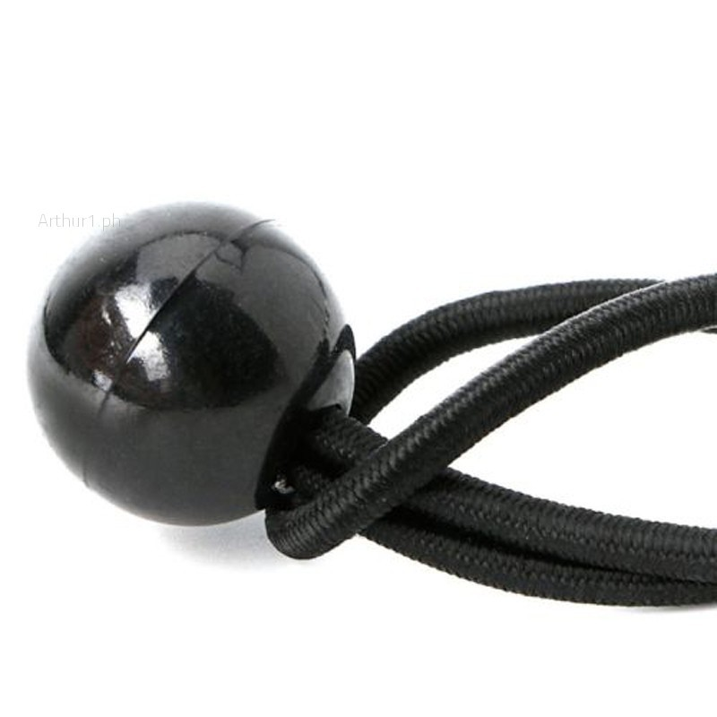10pcs Flag Pole Clip Attach Windsocks Ball Bungee Cord Ties Rope Flags To Poles