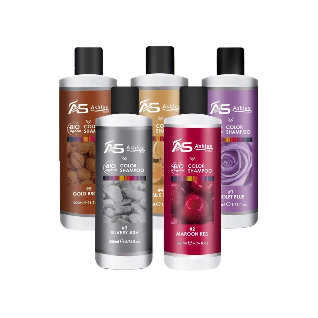 Ashley Shine Blonde3 Bio Organic Hair Color Cream Shopee