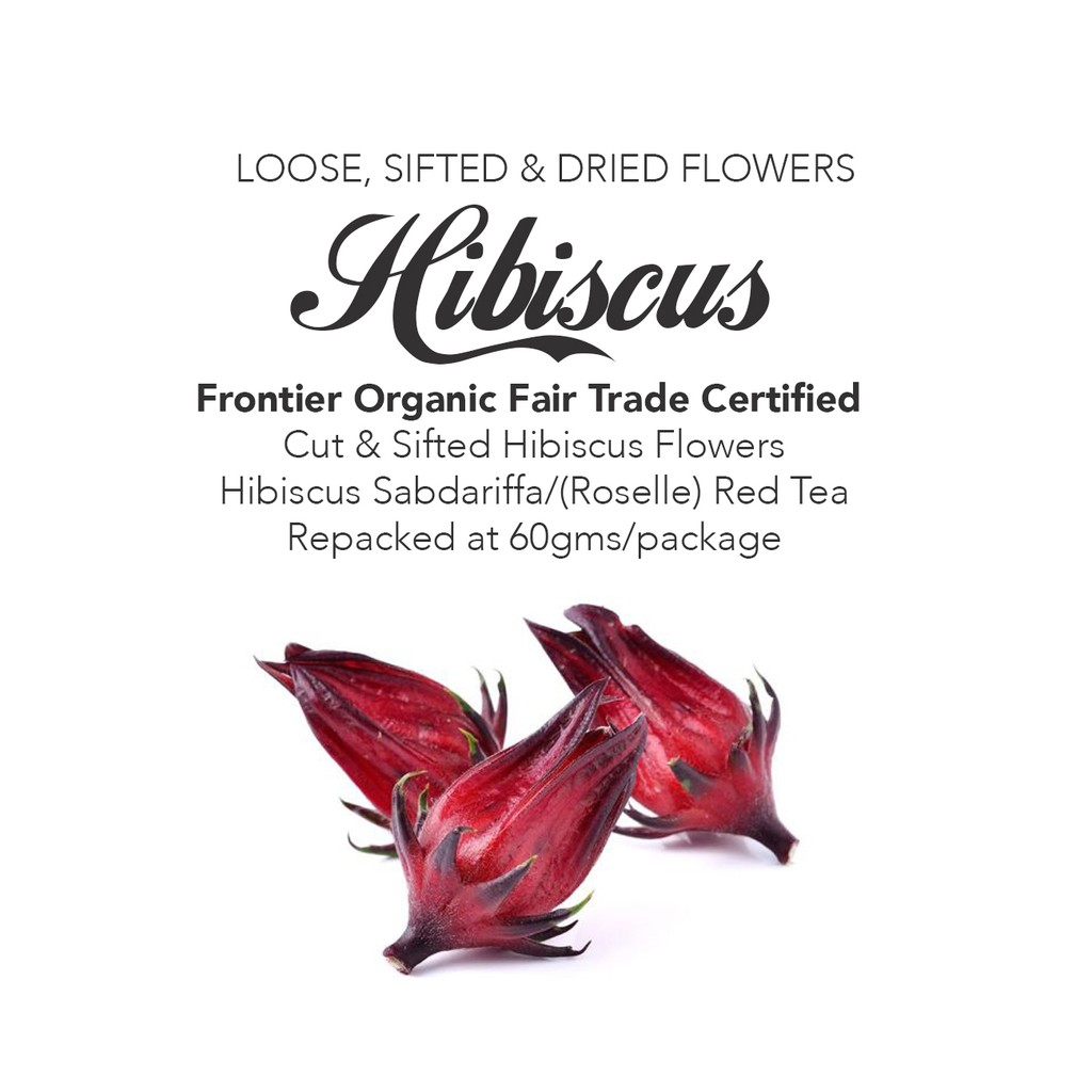 Hibiscus Tea Loose Sifted Dried Flowers Shopee Philippines