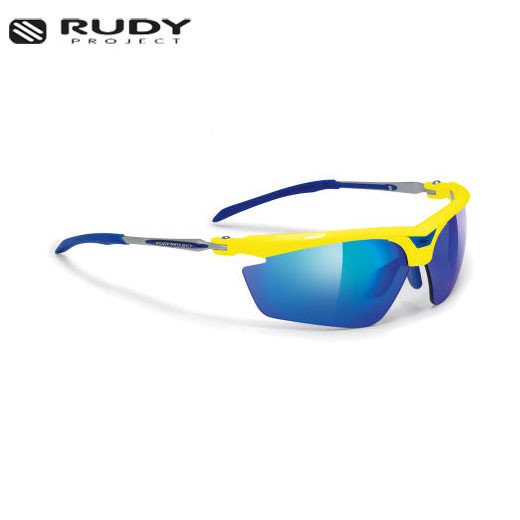 Occhiali Rudy Project TRALYX Blue Metal Lens Multilaser Ice//GLASSES RUDY PROJECT