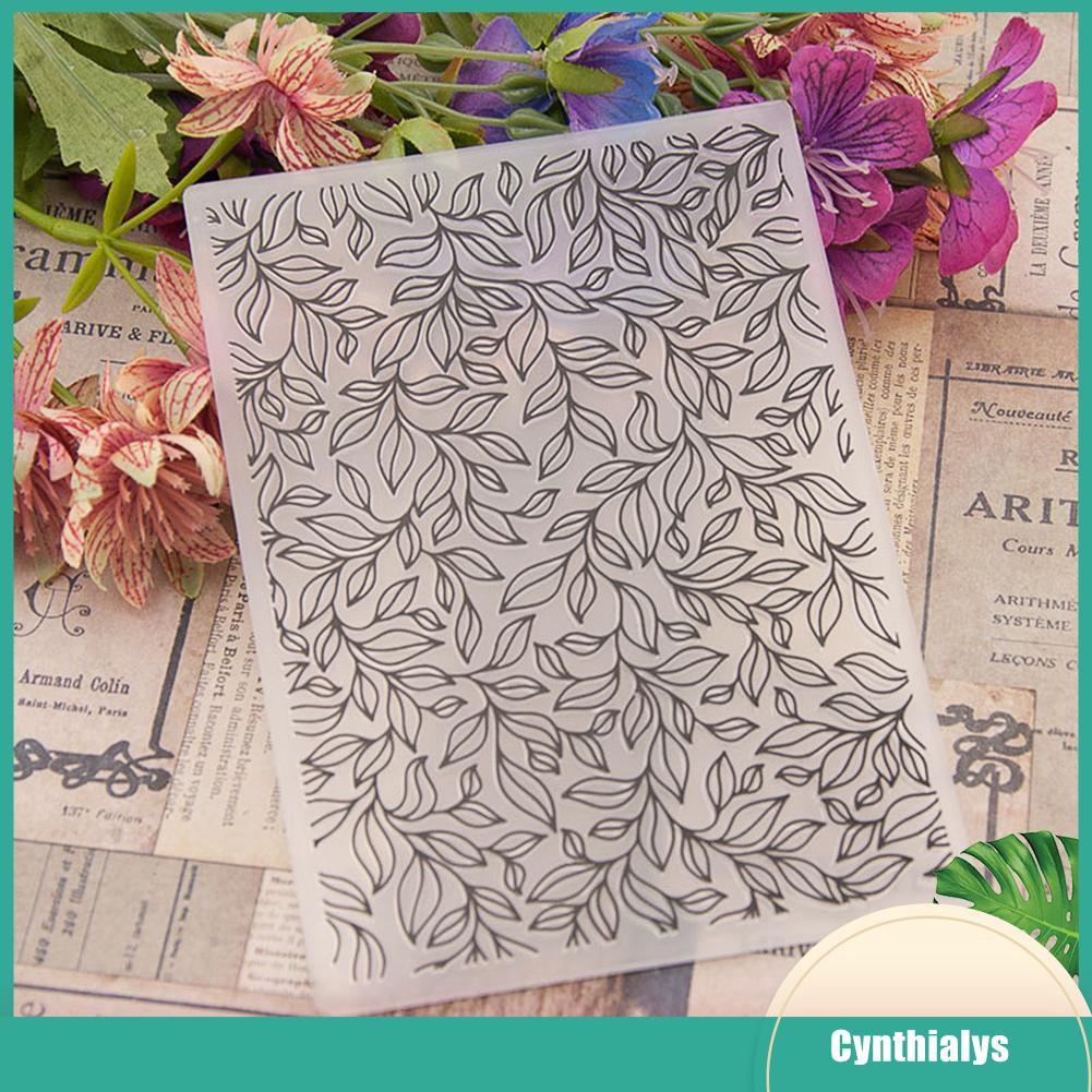 Flower Template Embossing Folder DIY Scrapbooking Photo Album Card Decoration
