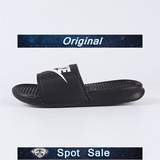 huge selection of b7dfb a75a1 NIKE BENASSI JDI white Black Fashion Slide Sandal slippers R