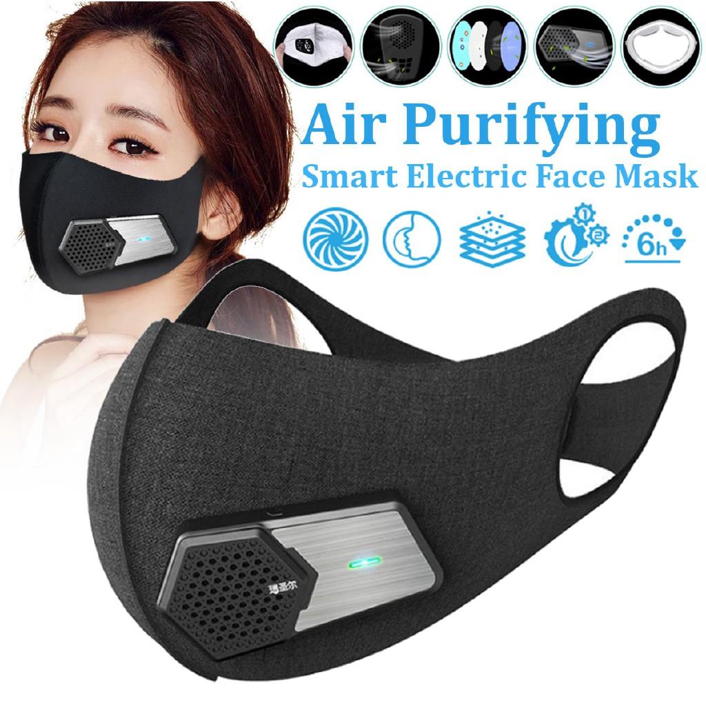 Smart Supply Electric Warmair☀fresh Face N95 Mask Air Purifying