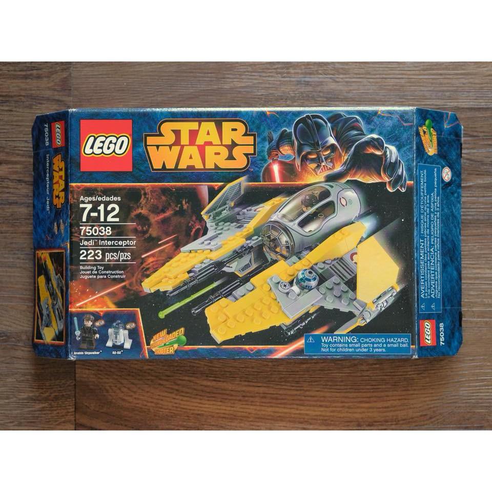 LEGO Minifigure Mini Figure Star Wars Anakin Skywalker 75038 Jedi Interceptor