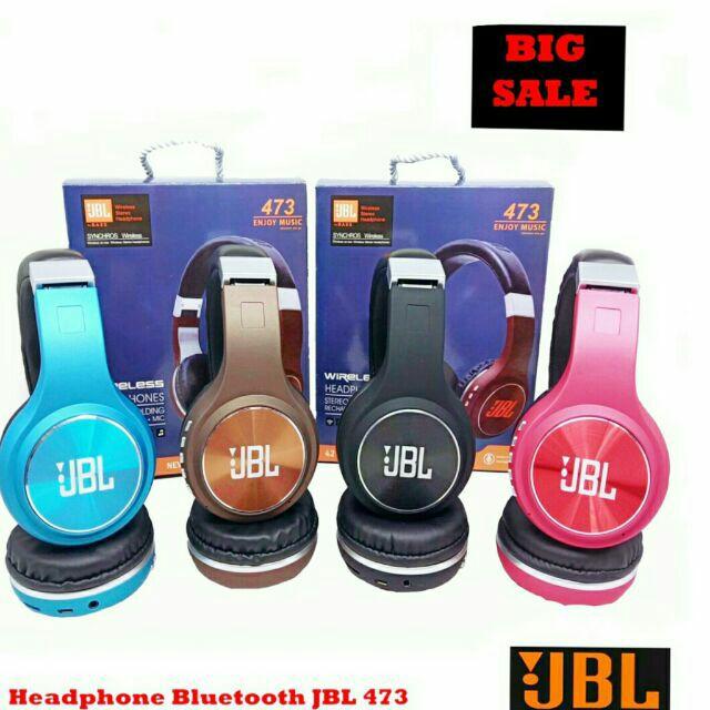 Jbl By Bass 473 Wireless Bluetooth Headphone Shopee Philippines