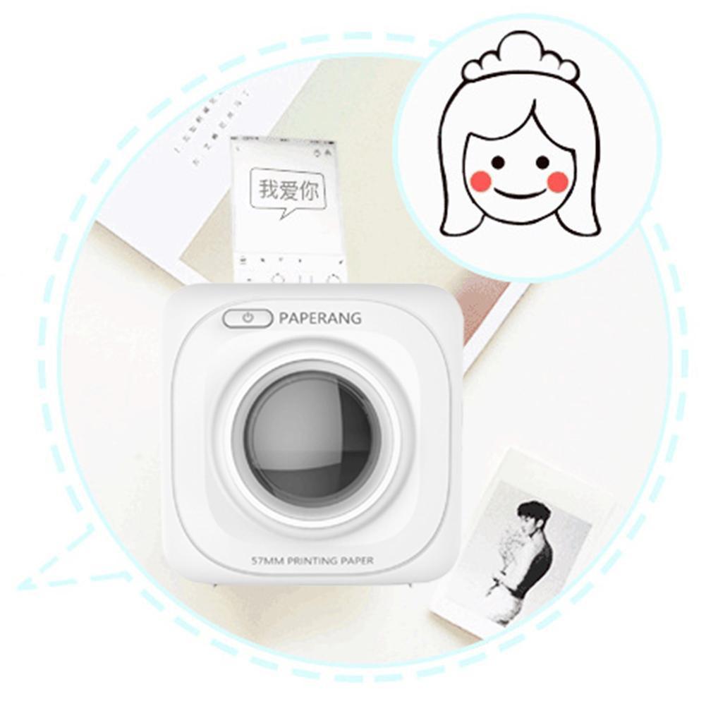 Film photo printer paper 6 rolls Pastable mini printer paper Paperang P1 Thermal paper 57X30