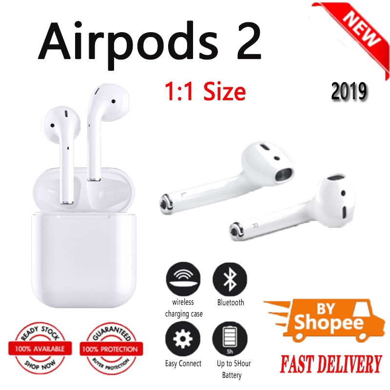 airpods 2 box size