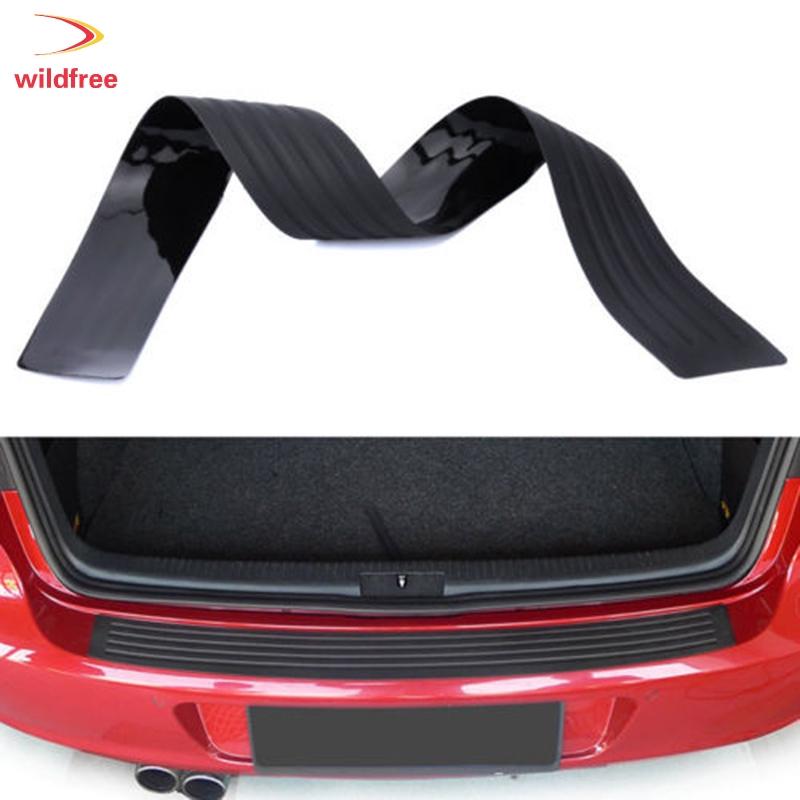 """35/""""x3/"""" Gray Rear Bumper Rubber Guard Cover Sill Plate Protector For Toyota Scion"""