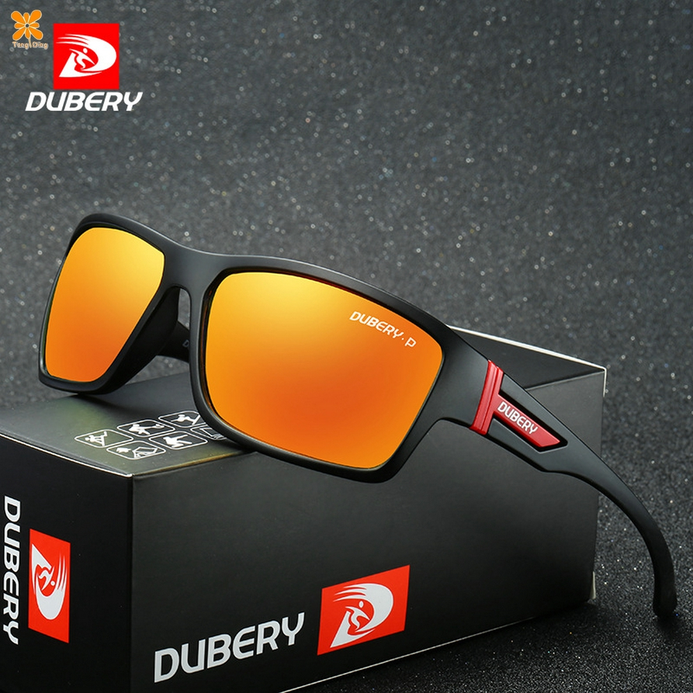 DUBERY Polarized Men Sport Sunglasses Outdoor Riding Fishing Summer Glasses