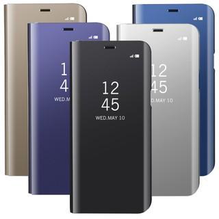 finest selection 337e9 a9eea Samsung Galaxy S6 edge Plus Case S6 Edge S6 Smart Flip View Mirror Cover