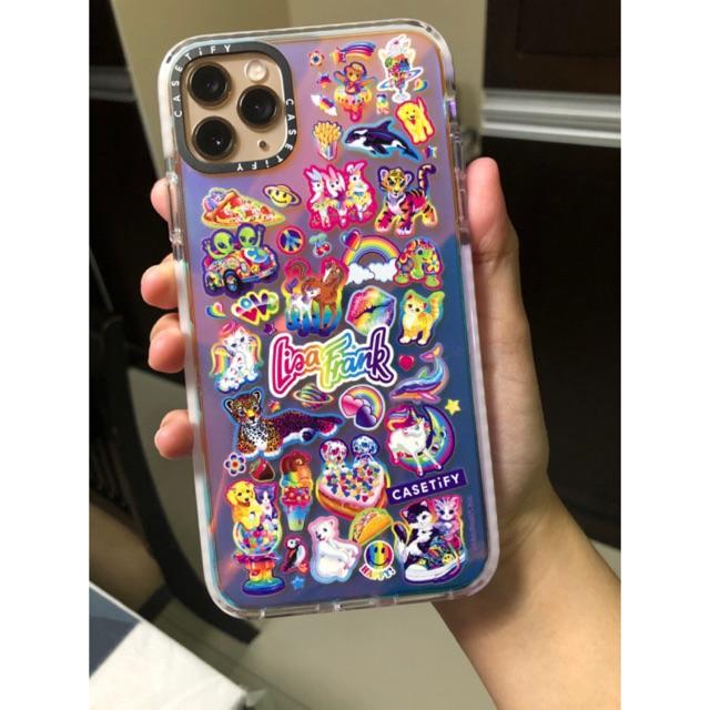 Original Casetify Lisa Frank Iridescent Impact Case Iphone 11 Pro Max Shopee Philippines