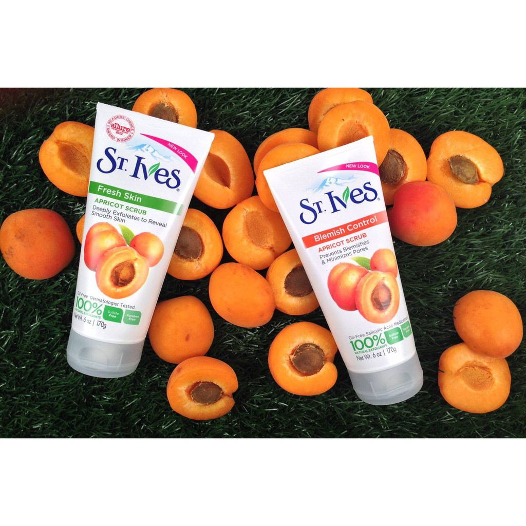 St Ives Face Scrub Shopee Philippines Blemish Control Apricot 283gr