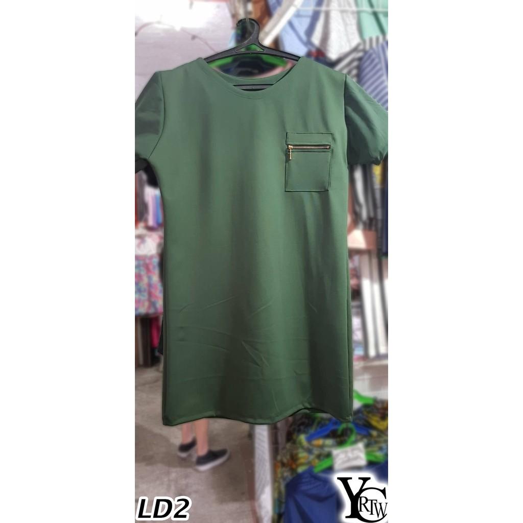 LD2 - Plus Size Dress w/ Pocket - Taytay RTW