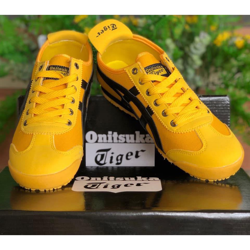 new style e7dab 9297c Men and Women Sneaker Shoes ONITSUKA Tiger for Him and Her Yellow