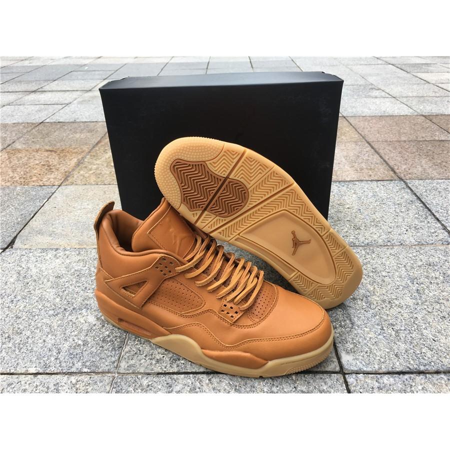 4cebd8bcc49 Air Jordan 4 Retro Premium Ginger Gum Yellow