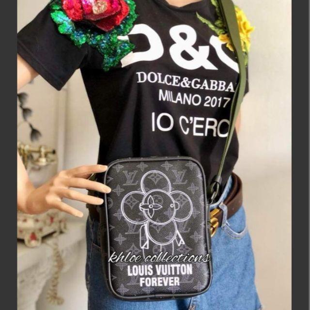 786aacd19c5b Louis Vuitton Danube Forever Monogram Sling bag