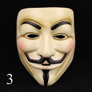 Vendetta Mask Party Fancy Costume Guy Fawkes Halloween Anonymous Mask Protest