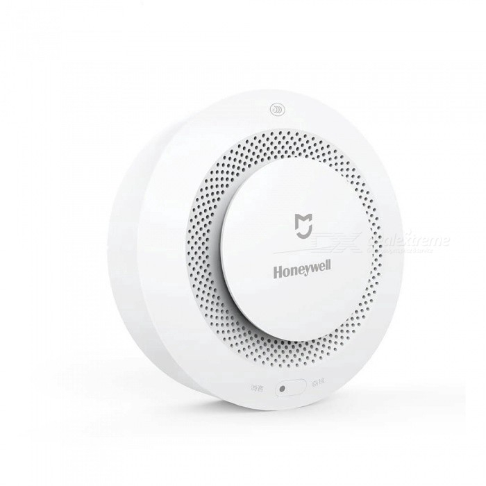 White Xiaomi Mijia Honeywell Fire Alarm Detector Wireless Smart Smoke Detector