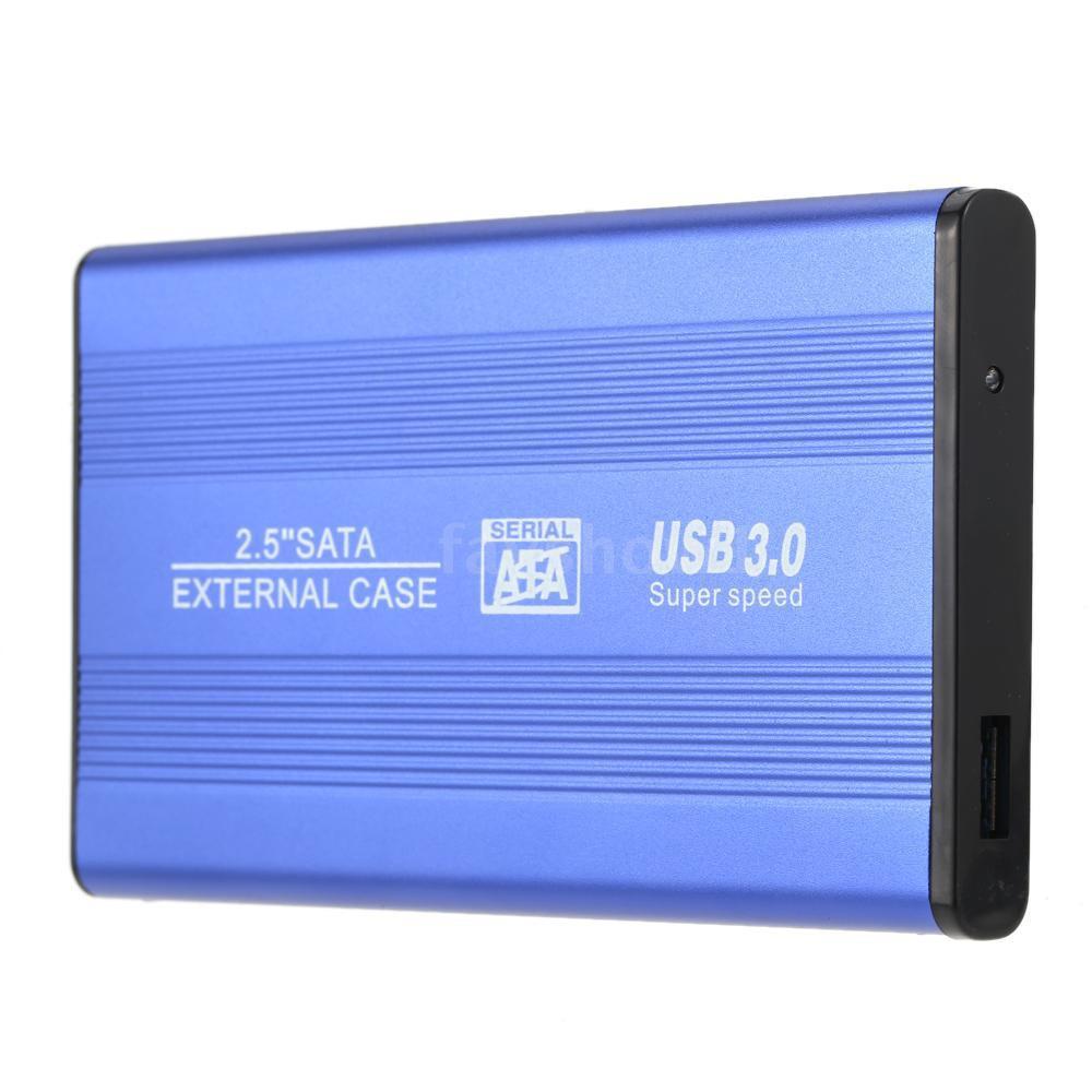 F&S USB 3 0 HDD SSD SATA External Aluminum Portable Superspe