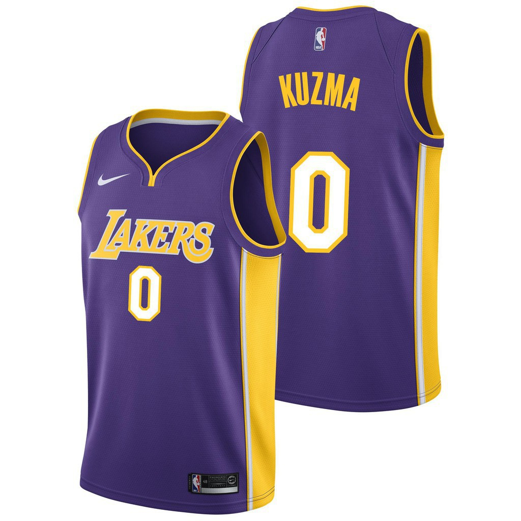new products ecee3 0de7b Nike NBA Kyle Kuzma Lakers basketball Jerseys 0