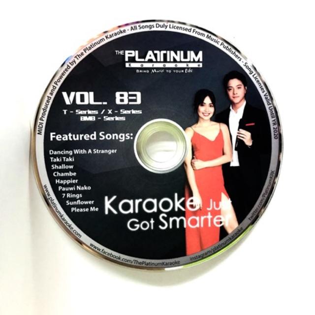 PLATINUM T/ X SERIES CD VOLUME 83