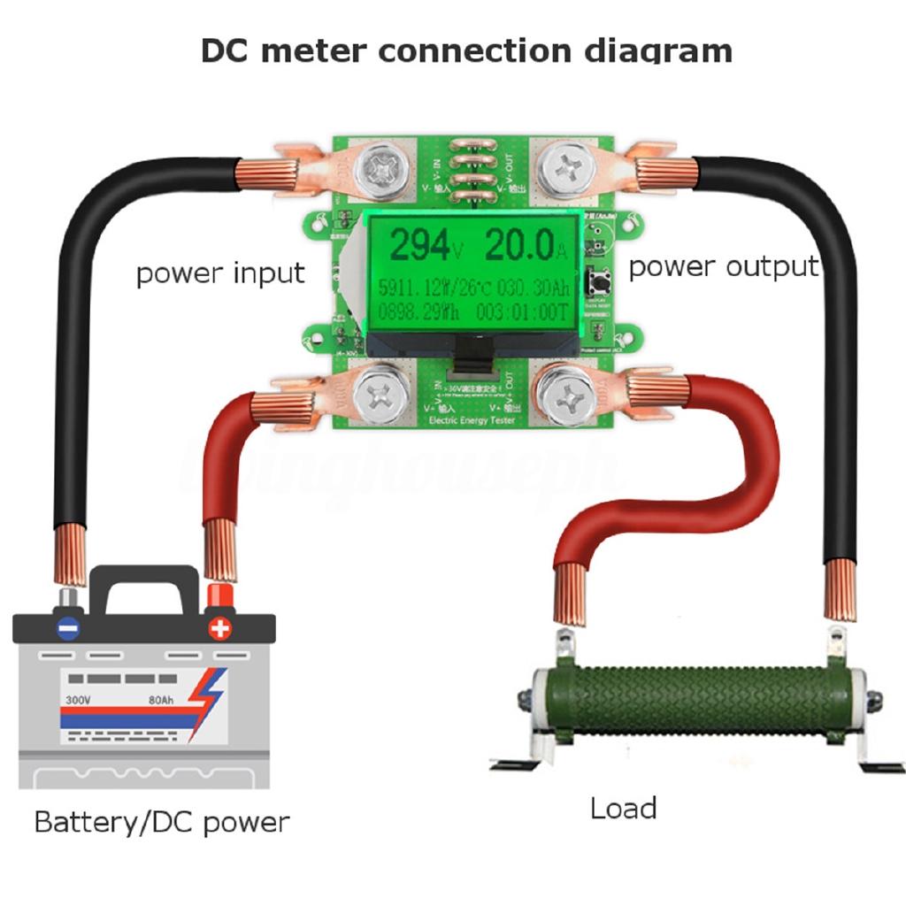 Voltmeter Ammeter Voltage Meter Power Supply Tester Machine Shopee Philippines