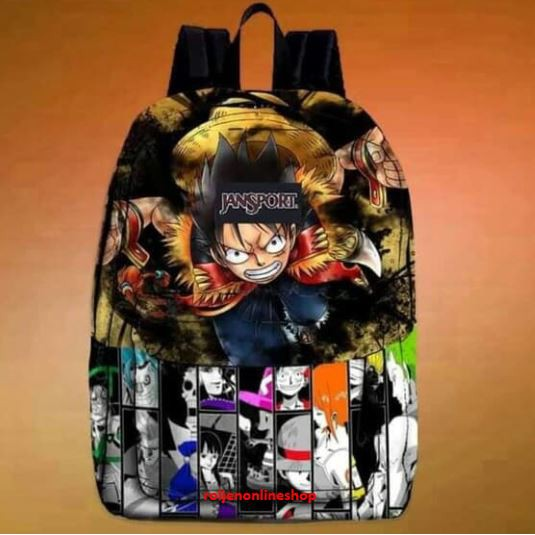 Jansport Backpack (Onepiece Luffy)