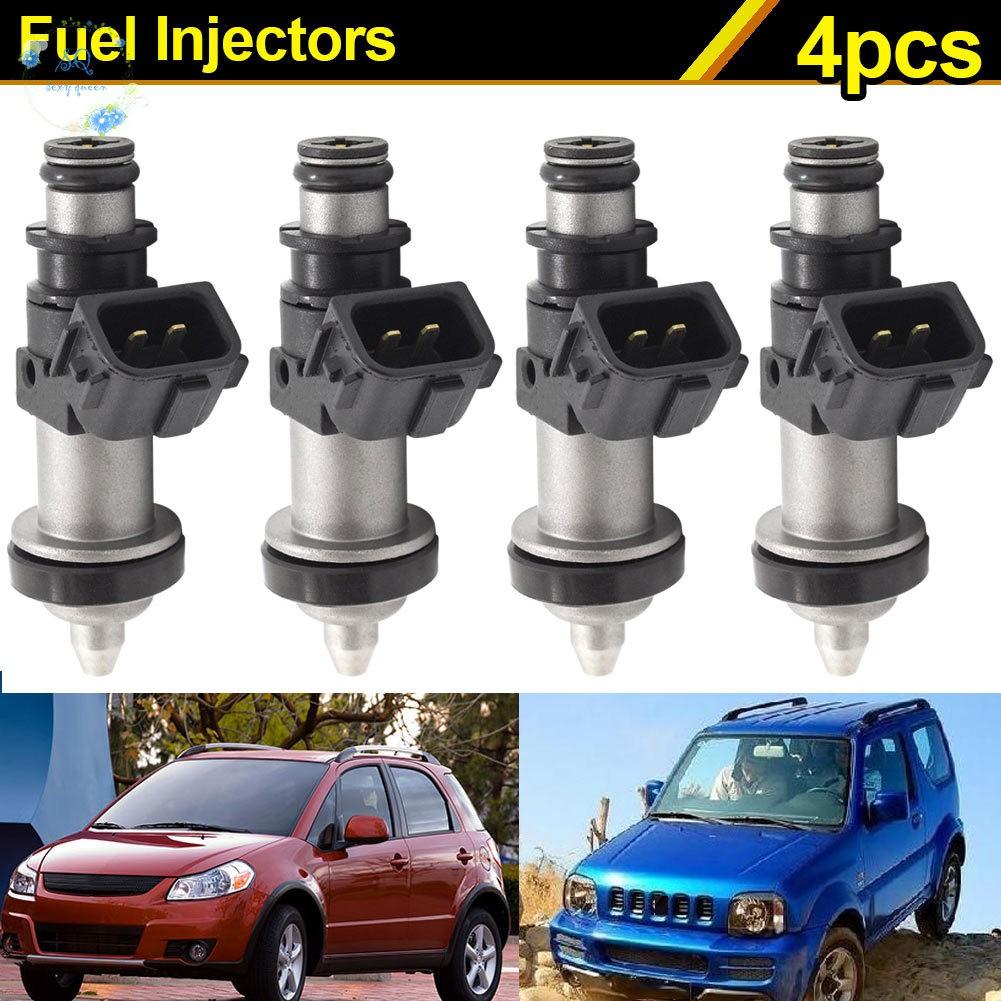 4 Fuel Injector kit For Suzuki GSXR 600 750 1000 Hayabusa GSX1300 15710-24F00