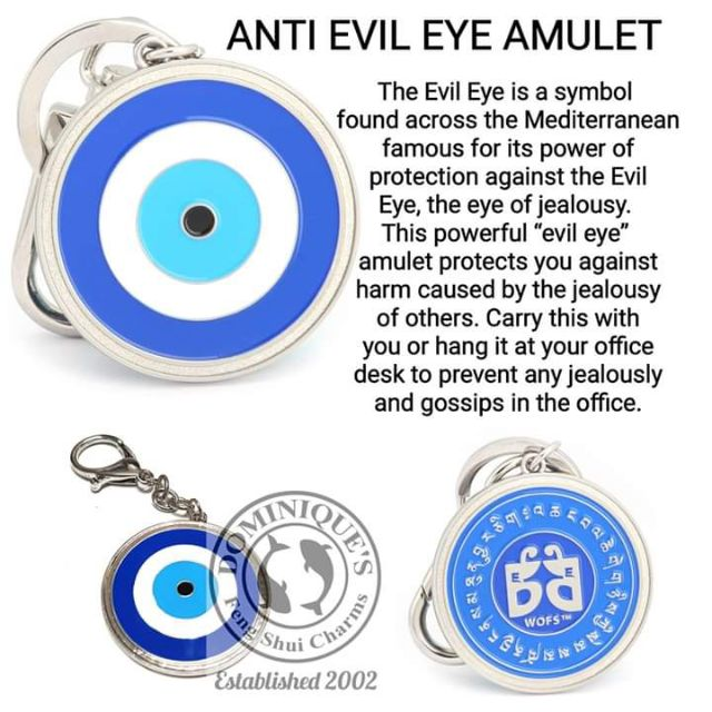 Blessed 2019 lilian too anti evil eye Amulet bag charm