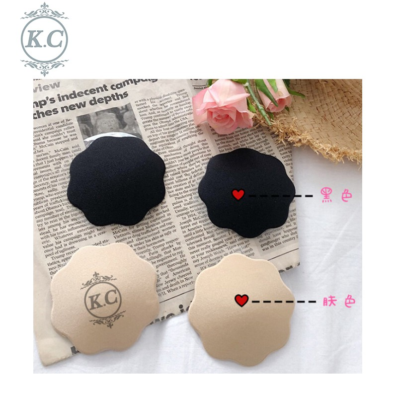 K C☆Good Quality☆Silicone Adhesive Bra Reusable Invisible Breast Nipple  Cover
