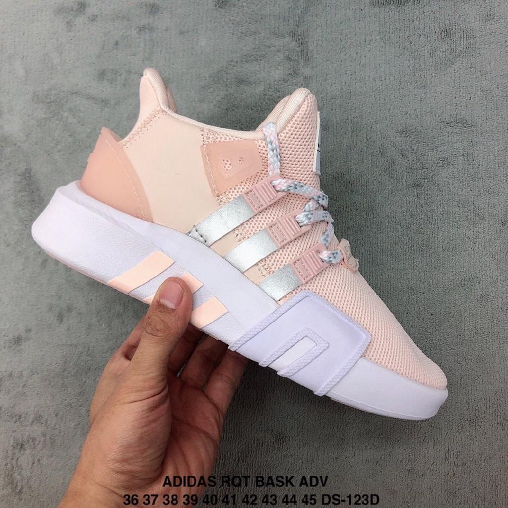 [Spot] Adidas EQUIPMENT RUNNENG SUPPORT Fashion Sneakers Pink Platform Shoes Men Women Shoes
