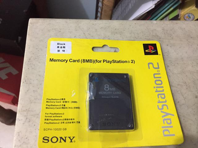 Playstation 2 (PS2) 8MB Memory Card w/ Free Mcboot + OPL