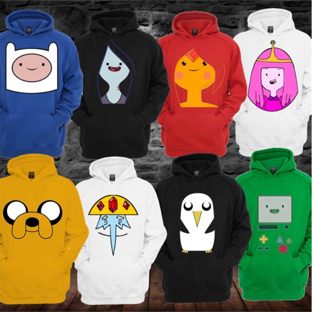 Adventure Time Hoodies Shopee Philippines