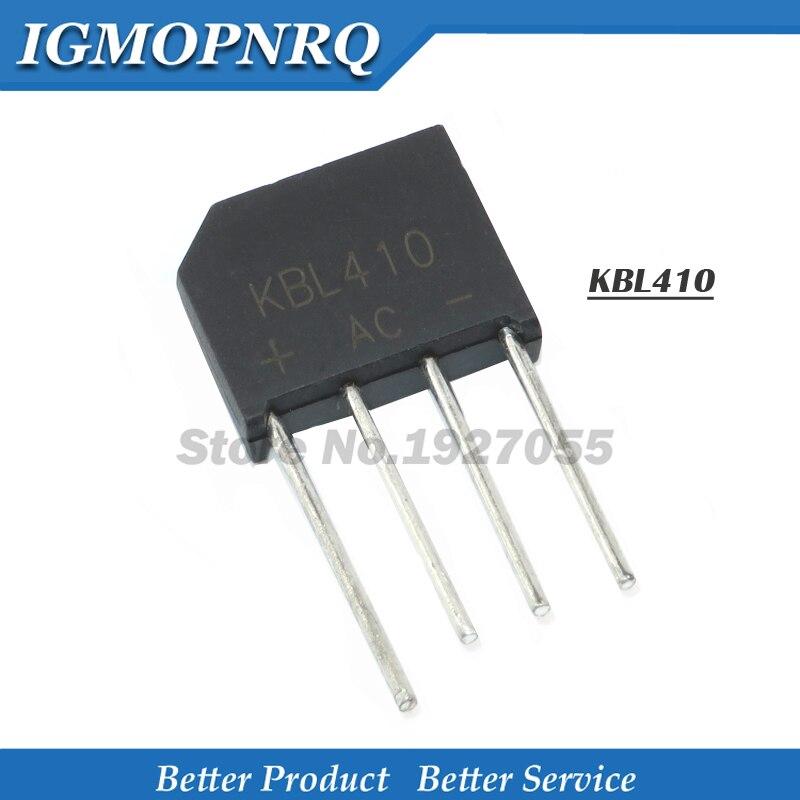 1PCS KBL410 KBL-410 4A 1000V Single Phases Diode Rectifier Bridge Electronic