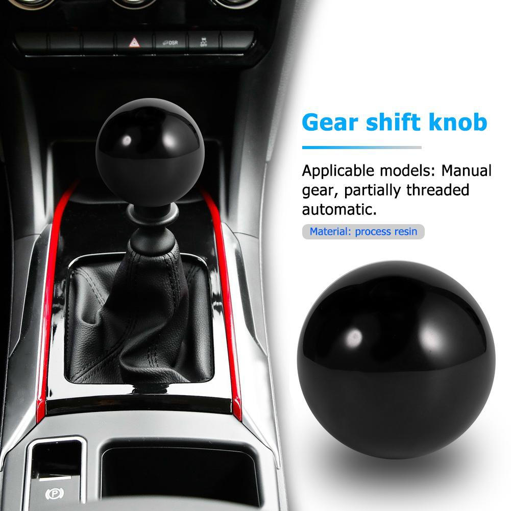 【JAE】High Quality MT Car Shift Knob Solid Color Ball Shaped Gear Stick  Shifter Lever Head
