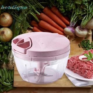 Manual Meat Grinder Food Chopper Mincer Mixer Fruit Vegetable Nut Shredder NIGH