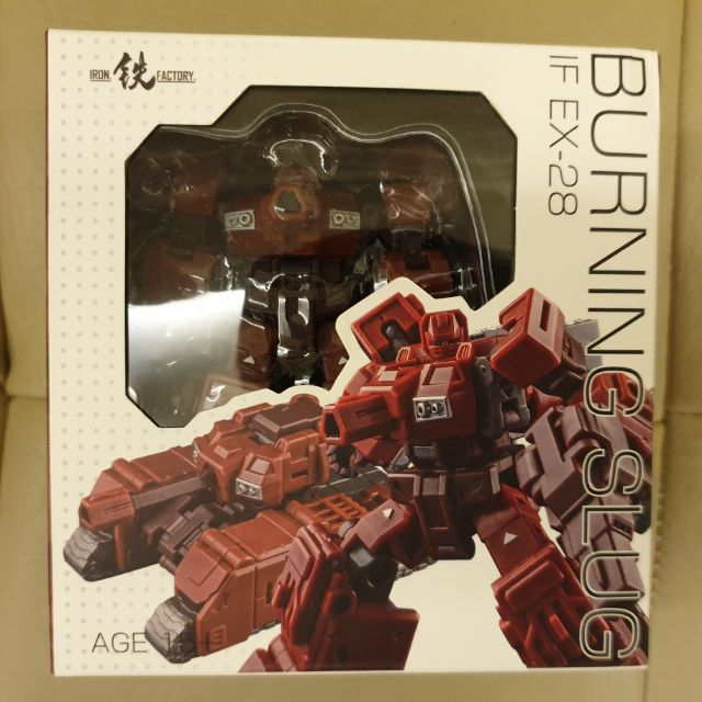 New Transformers IronFactory IF EX-28 Burning Slug in Stock MISB