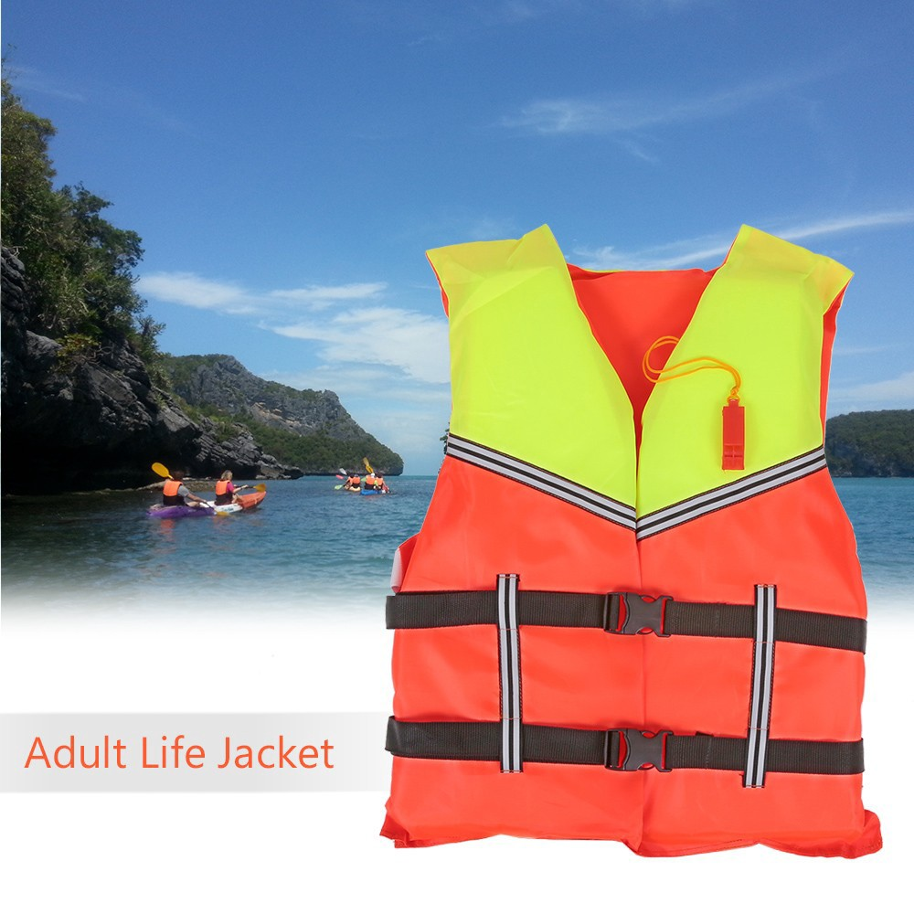 Hearty Adult Lifesaving Life Jacket Buoyancy Aid Boating Surfing Work Vest Clothing Swimming Marine Life Jackets Safety Survival Suit The Latest Fashion Safety & Survival Camping & Hiking