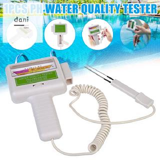 Water Quality PH//CL2 Chlorine Tester Level Meters For Swimming Pool Spa Tubs DE.
