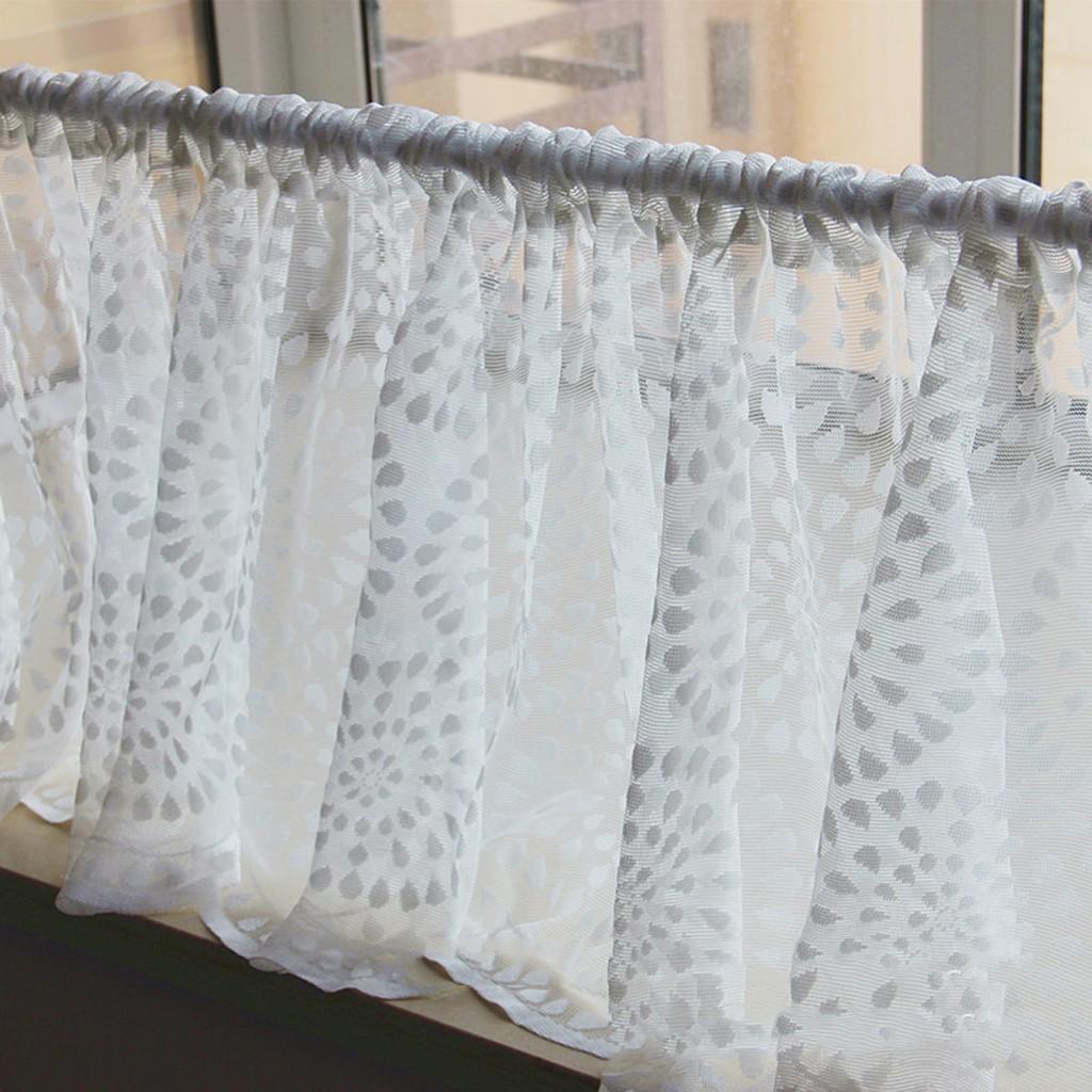 Homyl2 18 X60 Retro Country Lace Crochet Window Half Curtain Blackout Drape Valance 1 Shopee Philippines