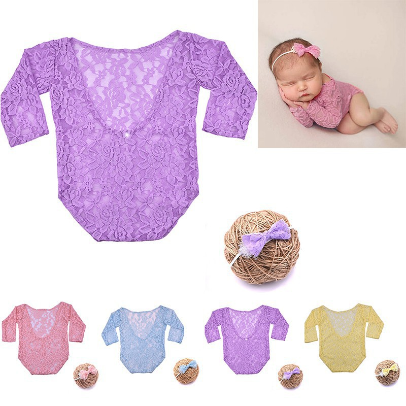 8d6e3b831361 ProductImage. ProductImage. KOKO@Newborn Baby Girl Kids Tops Romper+Headband  Clothes Set