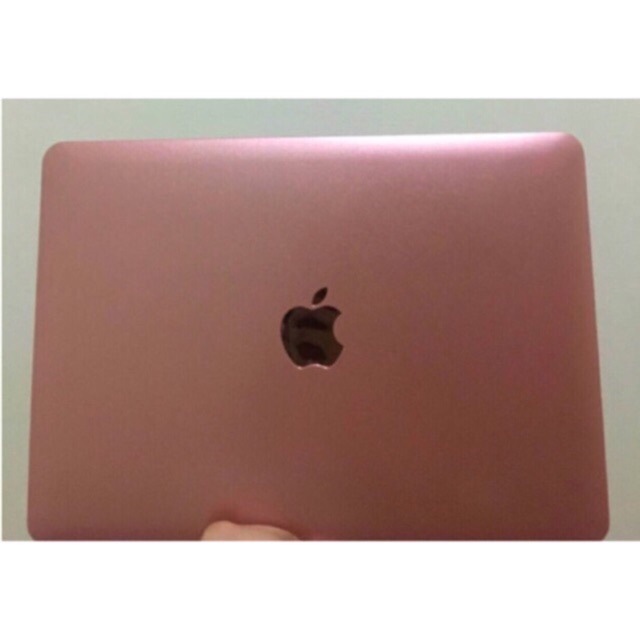 finest selection e1db8 60cc9 (FREE SHIPPING & COD) Rose Gold Metallic MacBook Case