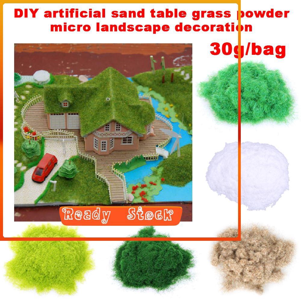 DIY Sand for aquarium fish tank plants bottom 30g//bag Micro Landscape Decoration