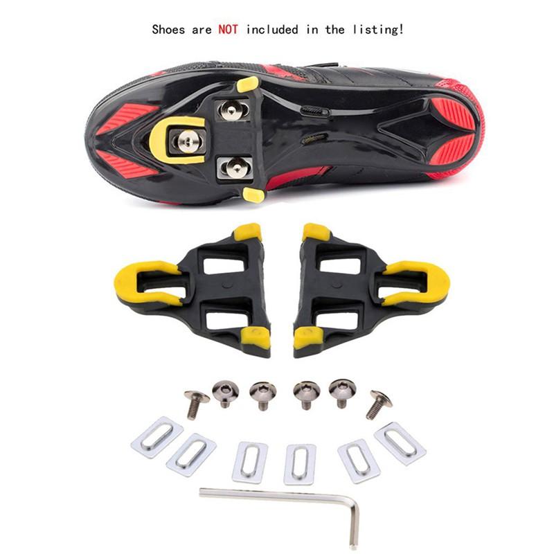 2PCS Bicycle Cycling Self-locking Pedal Cleats Set For Shimano SM-SH11 SPD-SL