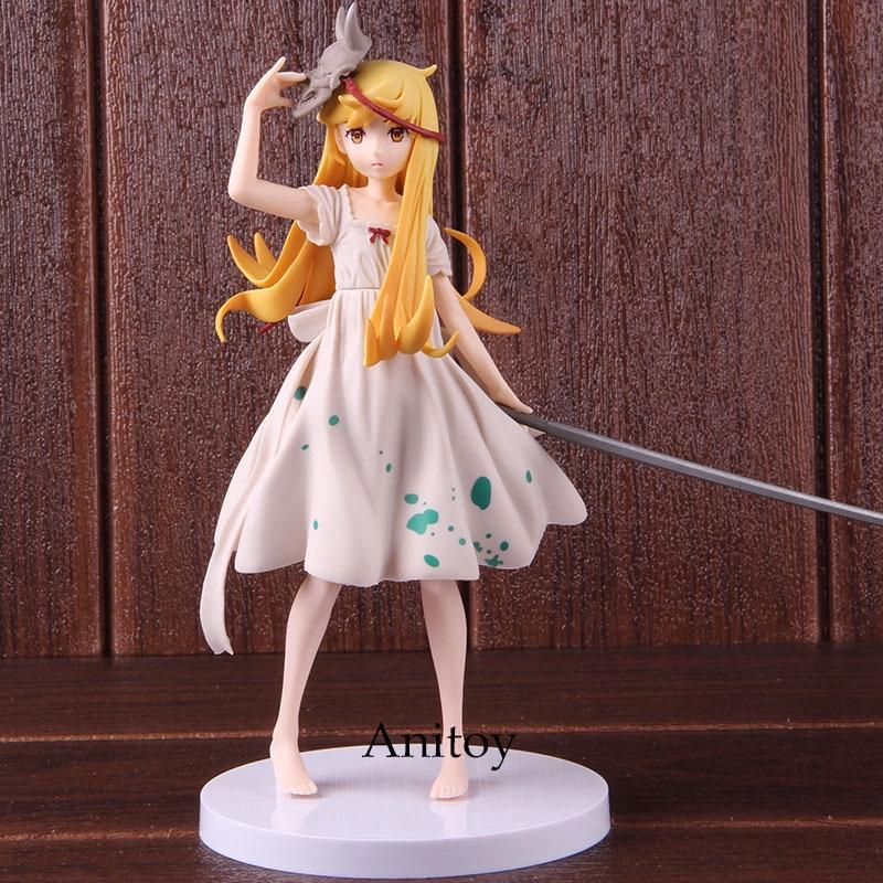 EXQ Figure Monogatari Oshino Shinobu Bakemonogatari Shinobu Figure Model Toy