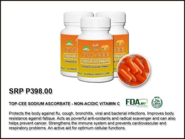 Top-Cee Sodium Ascorbate enhanced Alkaline Vitamin C