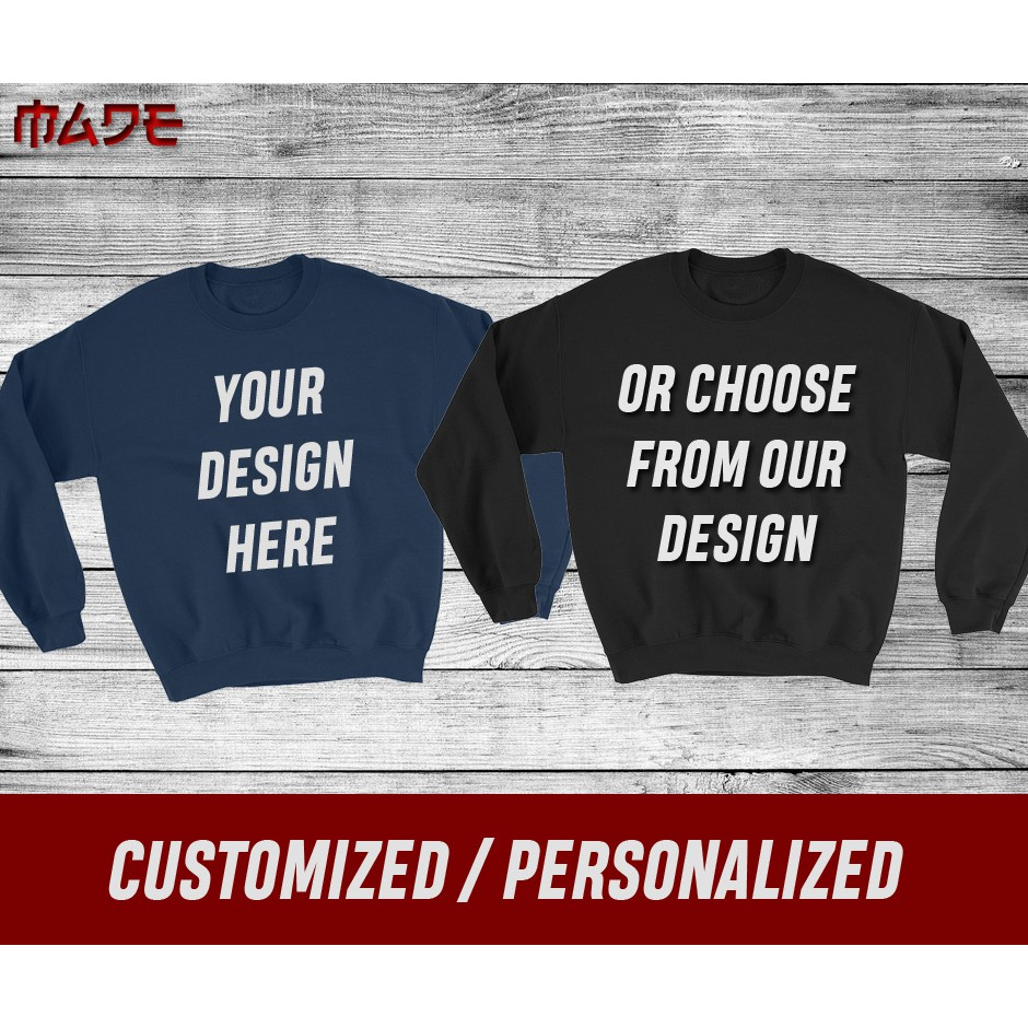e2fca70567d95 Customized / Personalized Gildan Hoodie & Sweatshirt | Shopee ...