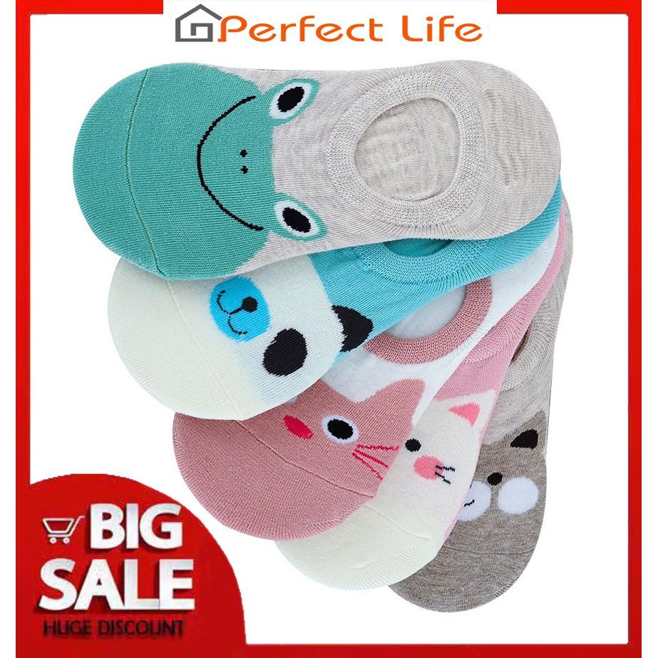 Perfect Life Cute Cartoon Anti-Slip Socks