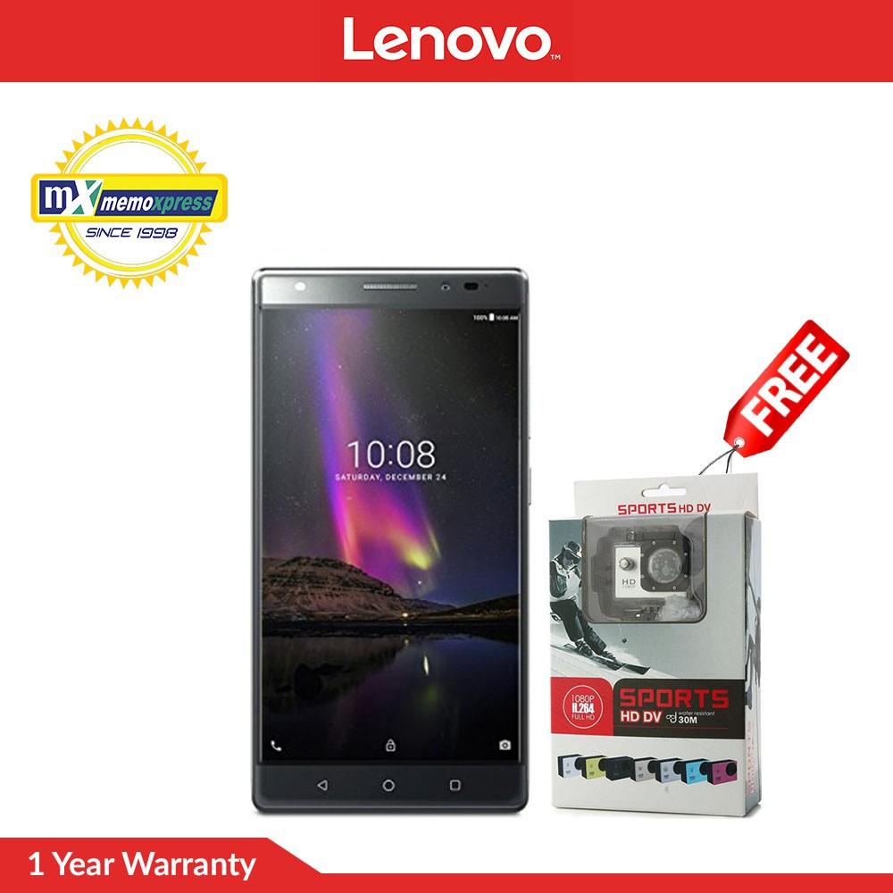 Lenovo Vibe X S960 Silver W Free Waterproof Bag Sim Card 16gb Shopee Philippines